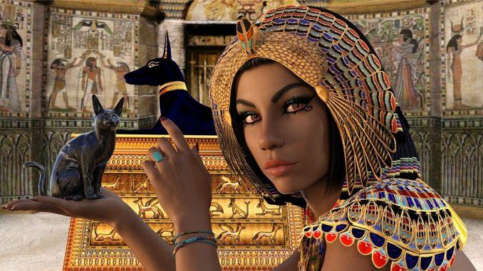 Ägyptische Schönheit