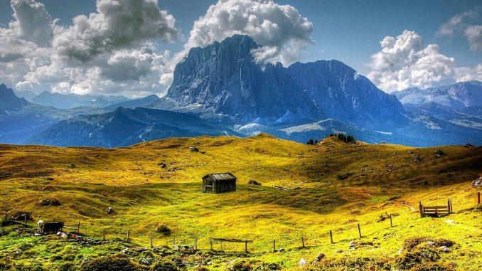 Südtirol - Berge und Alm