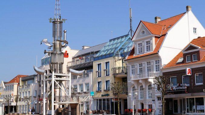 Marktplatz Aurich Ostfriesland