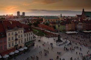Warschau in Polen - Altstadt